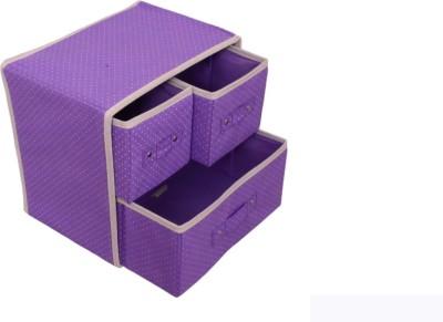 Home Union 3 L Purple Laundry Basket