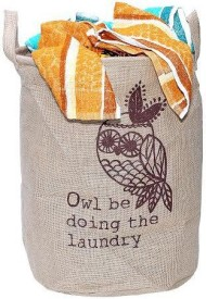 BMS Lifestyle More than 20 L Brown Laundry Bag