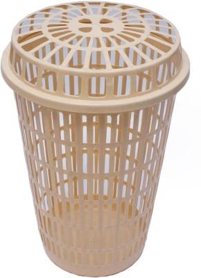 Inside Designs More than 20 L Beige Laundry Basket