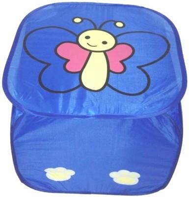 Shree Balaji Home 10 L Blue Laundry Bag