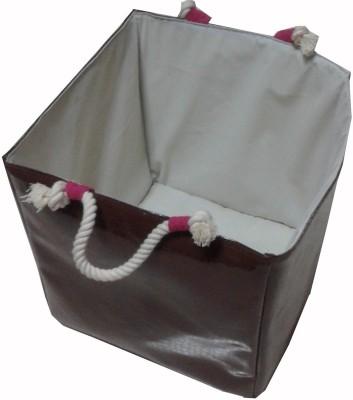 Creative Textiles 20 L Brown Laundry Basket