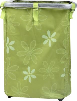 quickpiks More than 20 L Light Green Laundry Storage cum Stool