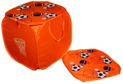Orient Home 10 L Orange Laundry Basket
