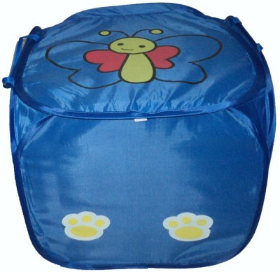 Amita Home Furnishing 20 L Blue Laundry Basket