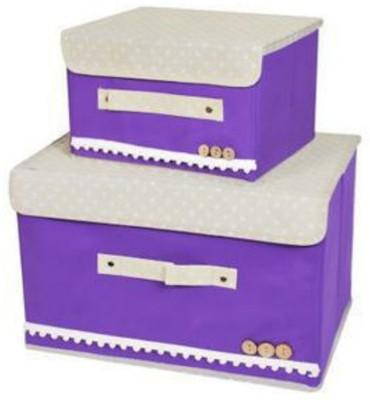 Home Union 2 L Purple Laundry Basket