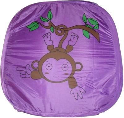 Amita Home Furnishing 20 L Purple Laundry Basket