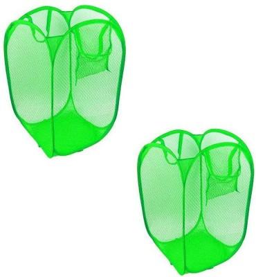 HMO India 3 L Green Laundry Basket