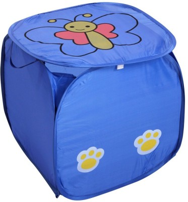 Zesture 5 L Blue Laundry Basket