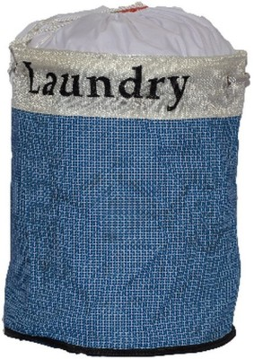 Portia More than 20 L Blue Laundry Basket