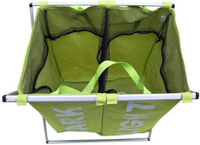 BMS Lifestyle More than 20 L Green Laundry Basket