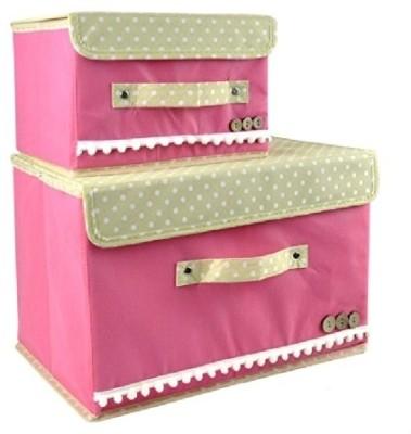 Home Union 2 L Pink Laundry Basket