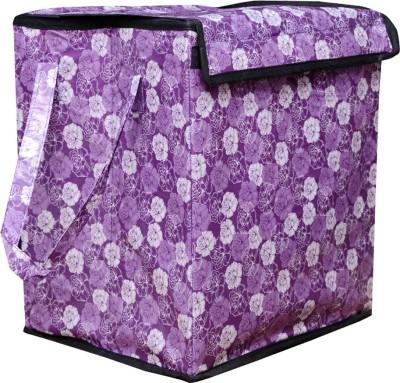 AZAAN DECOR 10 L Purple Laundry Basket