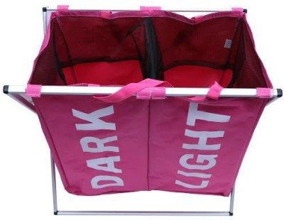 BMS Lifestyle More than 20 L Pink Laundry Basket
