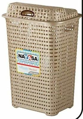 Nayasa 20 L Brown Laundry Basket