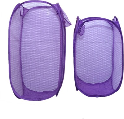 Kuber Industries 20 L Purple Laundry Bag
