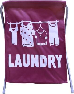 Homart More than 20 L Maroon Laundry Basket