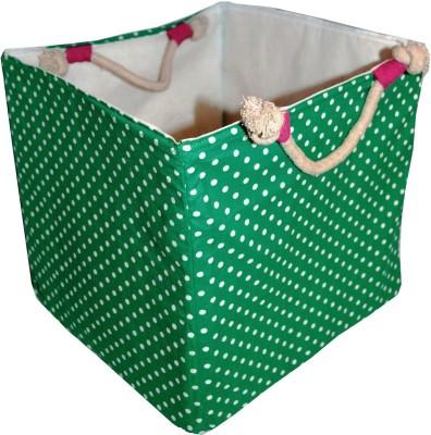 Creative Textiles 20 L Green Laundry Basket