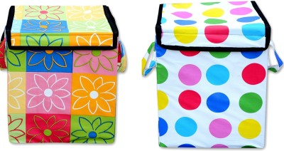 FabLooms 4 L Multicolor Laundry Bag