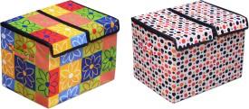 FabLooms 10 L Multicolor Laundry Bag