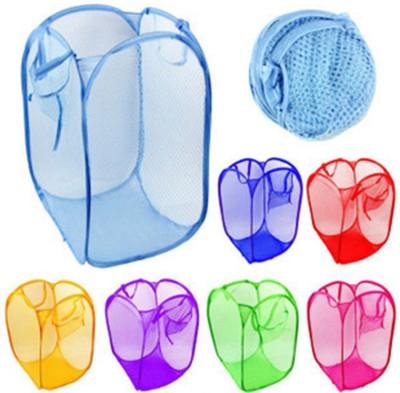 Mesh 3 L Multicolor Laundry Basket