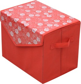 FabLooms 4 L Red Laundry Bag