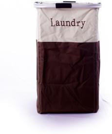 Belle Home 4 L Brown Laundry Bag