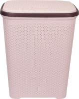 POLYSET More than 20 L Beige Laundry Basket(A Grade Plastic)