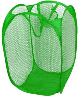 Glitter Collection More than 20 L Green Laundry Basket