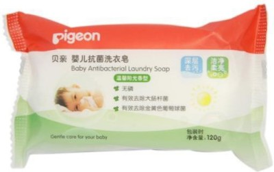 Pigeon Baby Antibacterial Laundry Soap - 120g (Pack Of 3)