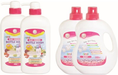 Farlin Anti Bacterial Baby Detergent com Bottle Wash