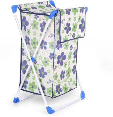 Bonita Cesta -Rich plum Laundry Trolley