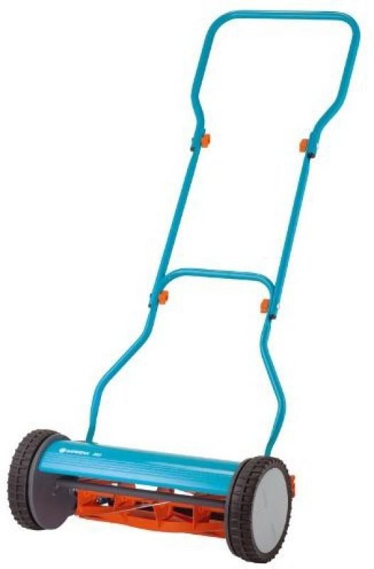 GARDENA Gardena 4023 15-Inch Silent Push Reel Lawn Mower 380 Manual Self Propelled Lawn Mower(11.81 inch)