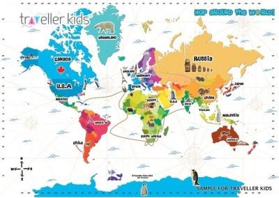 Traveller Kids Hop Around the World