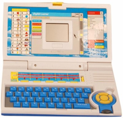 Homeshopeez Kids English Learner Laptop-BL