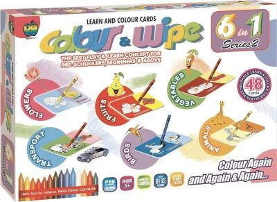 Applefun Colour & Wipe 6 in 1 Series 2