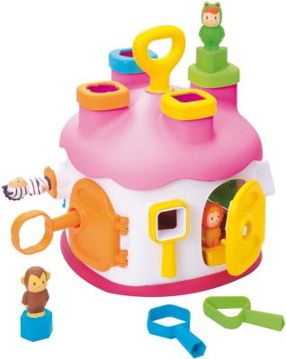 Smoby Cotoons Shape Sorter House