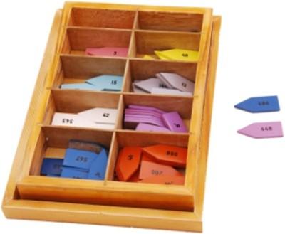 Kidken Montessori Arrows for complete bead material