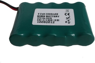 Adraxx 6 Volt 2000 MAh NIMH Battery(Multicolor)