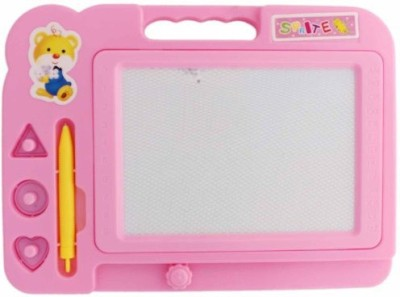 HMS Fancy Magic Slate Pink Writing And Drawing Board