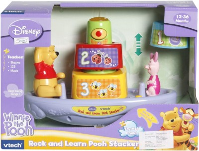VTech Rock and Learn Pooh Stacker