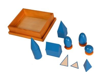Kidken Montessori Geometrical Solids