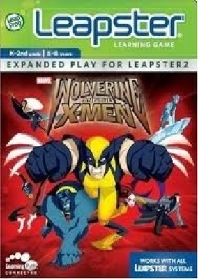 LeapFrog Leapster Learning Game Wolverine