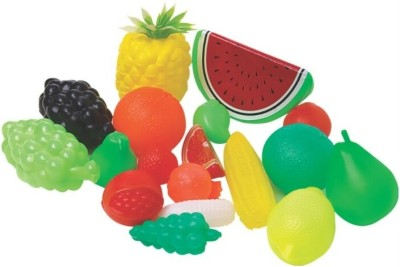 Rahul Toys Plastic Fruit Set For Kids To Play And Learn