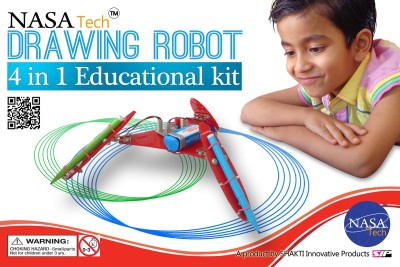 NASA Tech 4 in 1 Drawing Education learning robot kit