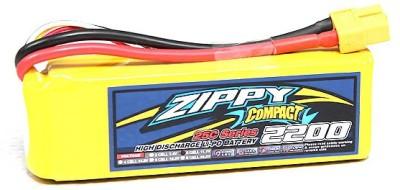 Rotobotix Zippy Compact 2200mah - 25c Lipo Battery