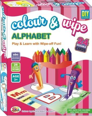 Ekta Ekta Colour & Wipe Alphabet Play And Learn