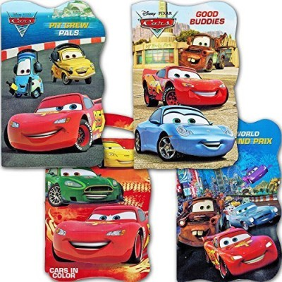 Disney Cars Board Books - Set of Four (Disney/Pixar)