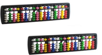 Djuize Abacus Multicolor 17 Rod C2 - Set Of 2