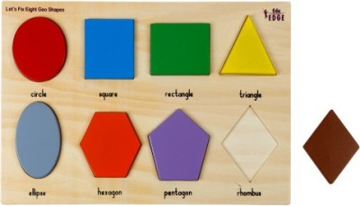 Eduedge Let,S Fix - Eight Geo Shapes