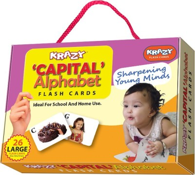 Krazy Capital Alphabet Flash Cards